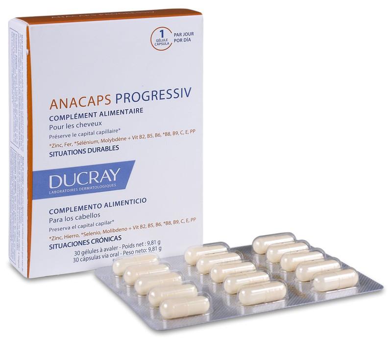 Anacaps Progressiv Ducray 30 Caps