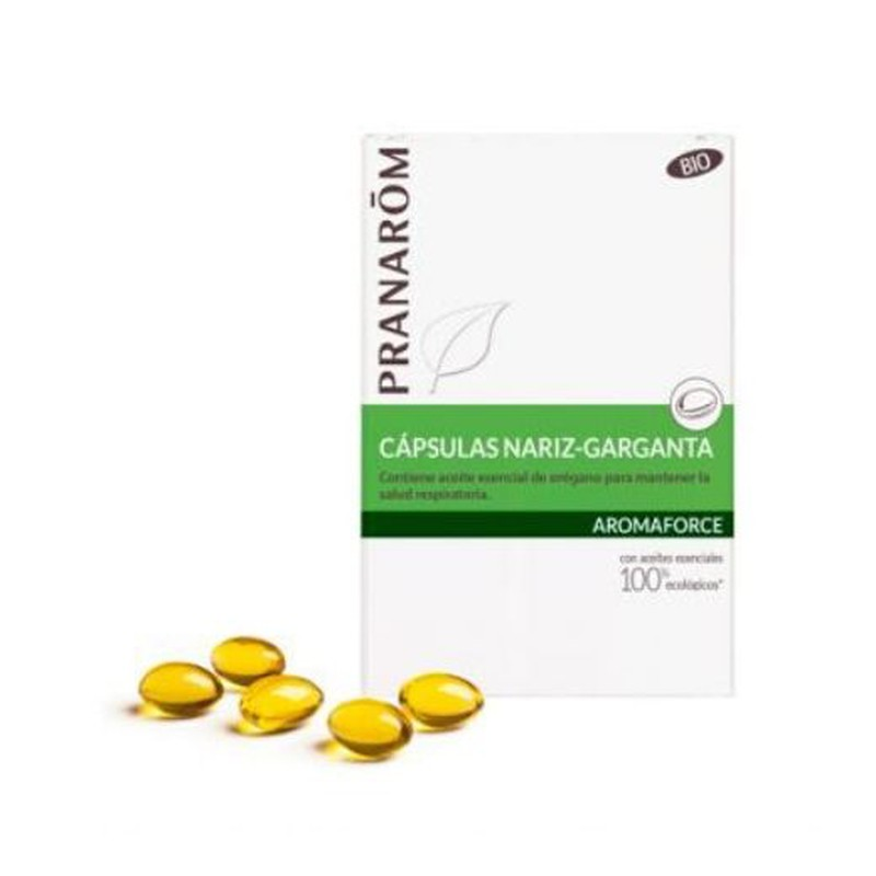 Pranarom Aromaforce Nariz Garganta 30caps