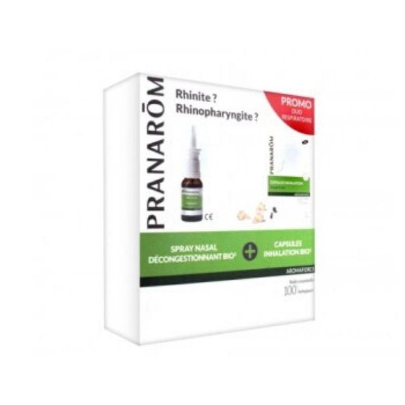 Pranarom Kit Inhalacion Caps + Inhalador