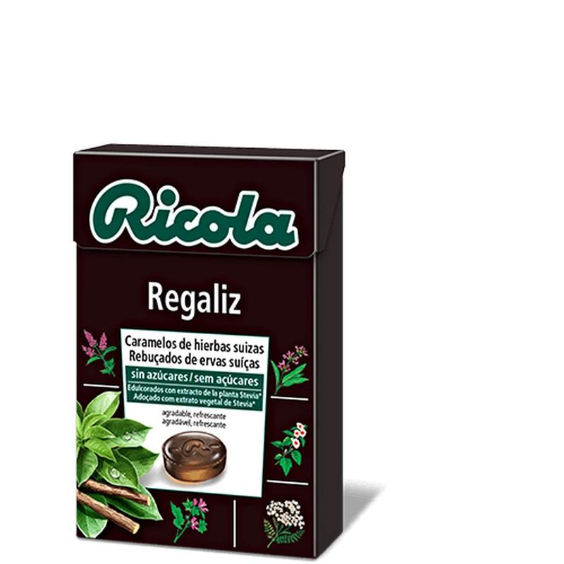 Ricola Caramelos Regaliz S/A